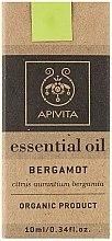 "Düfte, Parfümerie und Kosmetik Ätherisches Öl ""Bergamotte"" - Apivita Aromatherapy Organic Bergamot Oil"