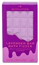 """Düfte, Parfümerie und Kosmetik Badebombe Lavendel - I Heart Revolution Chocolate Bar Bath Fizzer """"Lavender"""""""