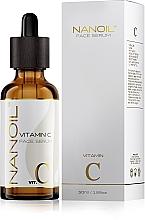 Düfte, Parfümerie und Kosmetik Aufhellendes Gesichtsserum mit Vitamin C - Nanoil Face Serum Vitamin C