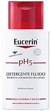 Düfte, Parfümerie und Kosmetik Körperfluid für empfindliche und trockene Haut - Eucerin Ph5 Fluido Detergente