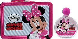 Düfte, Parfümerie und Kosmetik Air-Val International Disney Minnie Mouse - Duftset (Eau de Toilette 100ml + Kosmetiktasche)