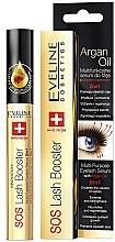 Düfte, Parfümerie und Kosmetik Erneuerndes Wachstumsserum für die Wimpern mit Arganöl 5 in 1 - Eveline Cosmetics Sos Lash Booster