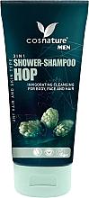 Düfte, Parfümerie und Kosmetik 3in1 Dusch-Shampoo für Körper, Gesicht und Haar mit Hopfen - Cosnature Men