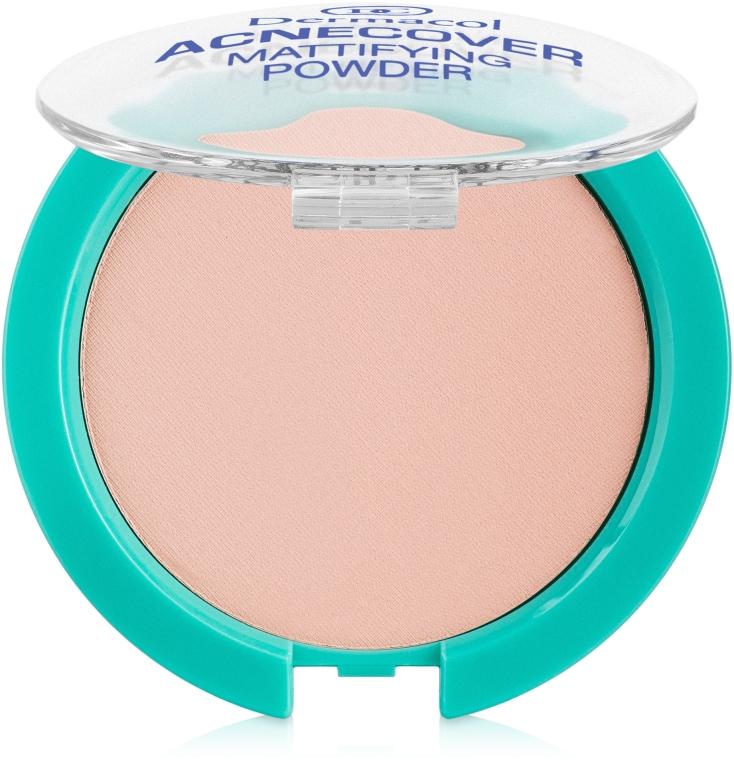Mattierendes Kompaktpuder - Dermacol Acnecover Mattifying Powder