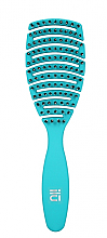 Düfte, Parfümerie und Kosmetik Haarbürste blau - Ilu Brush Easy Detangling Ocean Blue