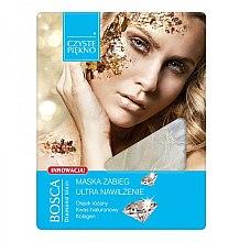 Düfte, Parfümerie und Kosmetik Feuchtigkeitsspendende Gesichtsmaske mit Hyaluronsäure und Kollagen - Czyste Piekno Bosca Diamond Mask