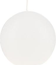 Düfte, Parfümerie und Kosmetik Duftkerze rund weiß 80 mm - Bolsius Ball Candle Rustic