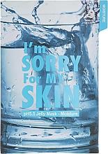 Düfte, Parfümerie und Kosmetik Feuchtigkeitsspendende Gesichtsmaske mit gelartiger Essenz - Ultru I'm Sorry For My Skin pH5.5 Jelly Mask Moisture