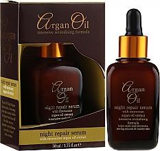 Düfte, Parfümerie und Kosmetik Regenerierendes Anti-Falten-Nachtserum - Xpel Argan Oil Night Repair Serum