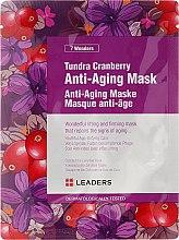 Düfte, Parfümerie und Kosmetik Anti-Aging Gesichtsmaske mit Moosbeere - Leaders 7 Wonders Tundra Cranberry Anti-Aging Mask