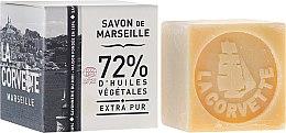 Düfte, Parfümerie und Kosmetik Parfümierte Körperseife - La Corvette Savon de Marseille Extra Pur