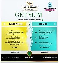 Düfte, Parfümerie und Kosmetik Nahrungsergänzungsmittel zur Gewichtsreduktion in 4 Wochen 84 St. - Noble Health Get Slim