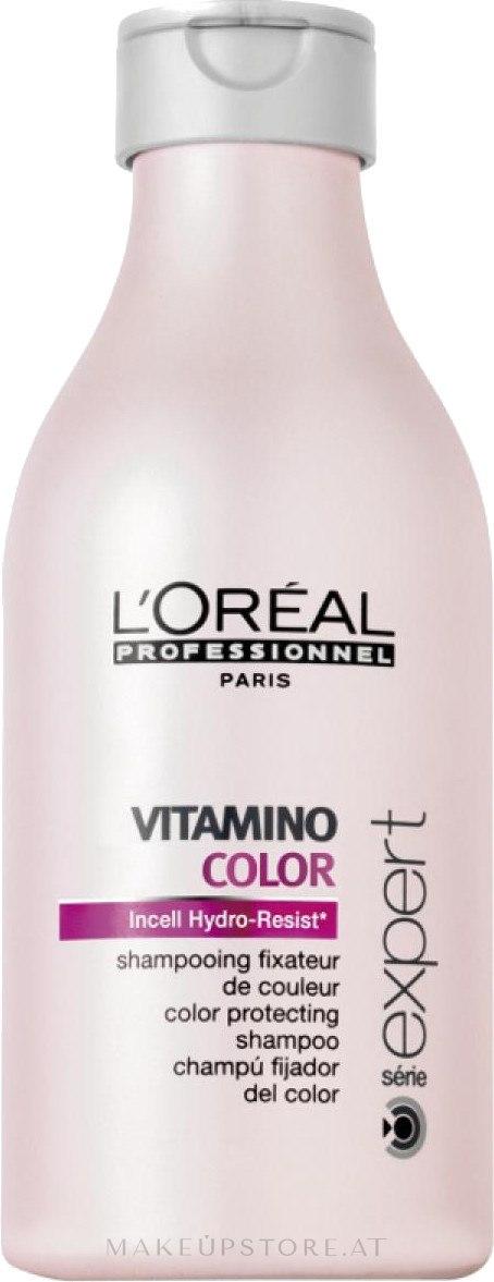 Farbschutz-Shampoo für coloriertes Haar - L'Oreal Professionnel Vitamino Color Shampoo — Bild 100 ml