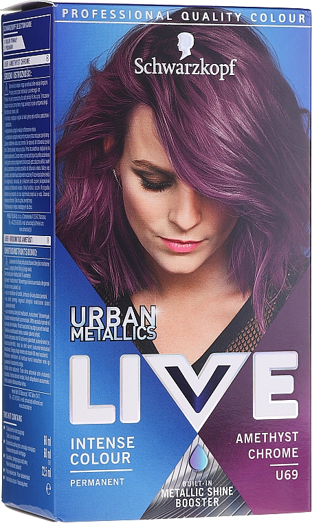 Haarfarbe - Schwarzkopf Live Urban Metallics Intense Colour