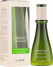 Düfte, Parfümerie und Kosmetik Feuchtigkeitsspendende Gesichtsemulsion mit 83% Neuseeländer Flachs Extrakt - The Saem Urban Eco Harakeke Emulsion