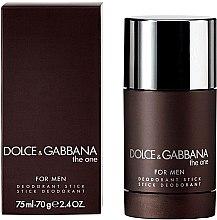 Düfte, Parfümerie und Kosmetik Dolce & Gabbana The One for Men - Deodorant Stick für Männer