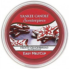 "Düfte, Parfümerie und Kosmetik Duftendes Wachs ""Frosty Gingerbread"" - Yankee Candle Easy MeltCup Frosty Gingerbread"