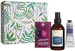 Düfte, Parfümerie und Kosmetik Gesichtspflegeset - L'Occitane (Gesichtsmaske 6ml + Gesichtsnebel 100ml + Handcreme 30ml)