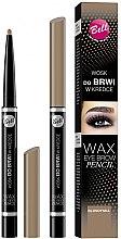Düfte, Parfümerie und Kosmetik Augenbrauen Wachsstift - Bell Wax Eye Brow Pencil