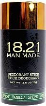 Düfte, Parfümerie und Kosmetik Deostick - 18.21 Man Made Deodorant Stick Spiced Vanilla