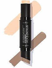 Düfte, Parfümerie und Kosmetik 2in1 Konturierstick und Foundation - Smashbox Studio Skin Shaping Foundation Stick
