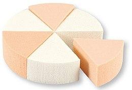 Düfte, Parfümerie und Kosmetik Foundation-Schwamm 35821 weiß, beige 6 St. - Top Choice Foundation Sponges