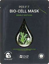 Düfte, Parfümerie und Kosmetik Bio-Cellulose-Maske mit Teebaumextrakt - SNP Double Synergy Soothing Bio-Cell Mask
