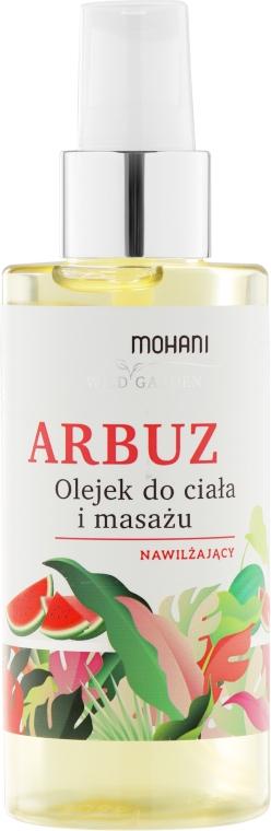 Feuchtigkeitsspendendes Körper- und Massageöl Wassermelone - Mohani Wild Garden Oil