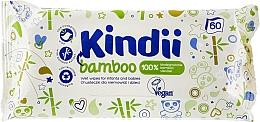 Düfte, Parfümerie und Kosmetik Antibakterielle Feuchttücher für Kinder mit Bambus - Kindi Bamboo