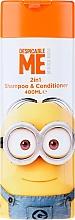 Düfte, Parfümerie und Kosmetik Haar Shampoo&Conditioner für Kinder 2in1 - Corsair Despicable Me Minions 2in1 Shampoo&Conditioner