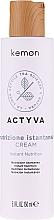 Düfte, Parfümerie und Kosmetik Feuchtigkeitsspendender Conditioner für trockenes Haar ohne Ausspülen - Kemon Actyva Nutrizione Istantanea Cream