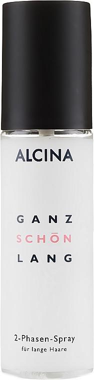 Pflegendes 2-Phasen Spray für lange Haare - Alcina Ganz Schon Lang 2-Phasen-Spray