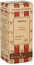 Düfte, Parfümerie und Kosmetik Ätherisches Thymianöl - Botanika 100% Thyme Essential Oil