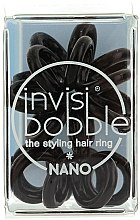 Düfte, Parfümerie und Kosmetik Haargummis 3 St. - Invisibobble Nano True Black