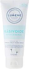 Düfte, Parfümerie und Kosmetik Handcreme - Lumene Klassiko Express Fresh Hand Cream