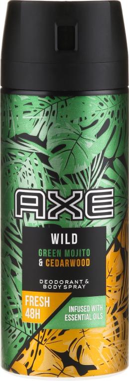 Deospray - Axe Wild Green Mojito & Cedarwood