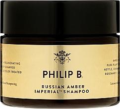 Düfte, Parfümerie und Kosmetik Regenerierendes Shampoo für normales und coloriertes Haar - Philip B Russian Amber Imperial Shampoo