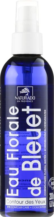 Mizellenwasser mit Kornblumenblüten - Naturado Water from Cornflower Flowers