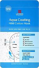 Düfte, Parfümerie und Kosmetik Gesichtsmaske für trockene Haut - Leaders Ex Solution Aqua Coating Mild Cotton Mask