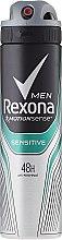 Düfte, Parfümerie und Kosmetik Deospray Antitranspirant - Rexona Men MotionSense Sensitive Deodorant Spray
