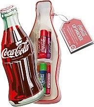 "Düfte, Parfümerie und Kosmetik Lippenbalsam-Set ""Coca-Cola"" - Lip Smacker Coca-Cola Mix (Lippenbalsam/6x4g)"