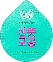 Düfte, Parfümerie und Kosmetik Reinigende, beruhigende und aufhellende Gesichtsmaske in Kapsel mit Pfefferminze - Holika Holika Superfood Capsule Pack Peppermint