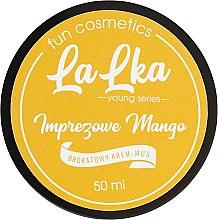 Düfte, Parfümerie und Kosmetik Creme-Mousse für den Körper mit Glitzer und Mango - Lalka