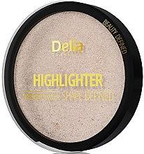 Düfte, Parfümerie und Kosmetik Highlighter - Delia Highliter Shape Defined Pressed Powder