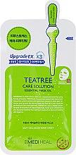 Düfte, Parfümerie und Kosmetik Beruhigende Tuchmaske mit Teebaumextrakt - Mediheal Teatree Care Solution Essential Mask Ex