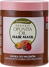 Düfte, Parfümerie und Kosmetik Haarmaske mit Bio-Feigenkaktusöl - GlySkinCare Organic Opuntia Oil Hair Mask