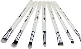 Düfte, Parfümerie und Kosmetik Make-up Pinselset 7-tlg. - Nanshy Eye Brush Set P. White