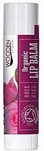 Düfte, Parfümerie und Kosmetik Bio Lippenbalsam - Wooden Spoon Lip Balm Rose Kiss