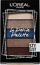 Düfte, Parfümerie und Kosmetik Lidschattenpalette - L'Oreal Paris La Petite Palette Stylist Eyeshadow