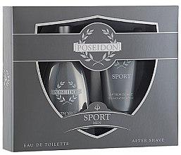 Düfte, Parfümerie und Kosmetik Instituto Espanol Poseidon Sport - Duftset ( Eau de Toilette/150ml + After Shave/150ml)